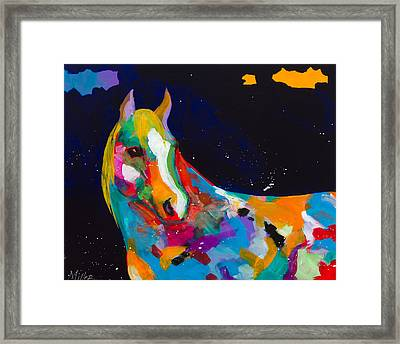 Old Bess Framed Print by Tracy Miller