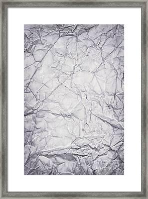 Old Blue Paper Framed Print by Blink Images