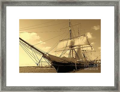 Framed Print featuring the photograph Old Boat by Jasna Gopic
