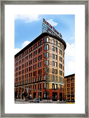 Old Boston Wharf Company  Framed Print by Michelle Wiarda