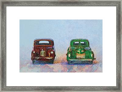 Old Boy Toys Framed Print by Perry Van Munster