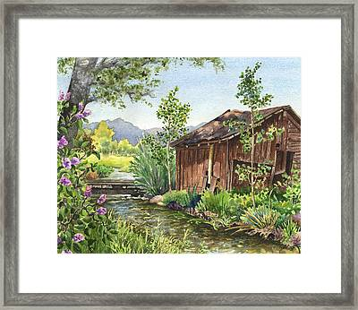 Old Braley Barn Framed Print