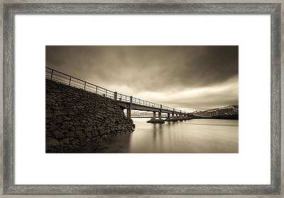 Old Bridge Framed Print