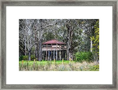 Old Building On Stilts 1 Framed Print
