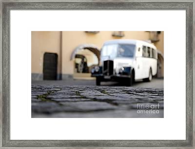 Old Buss Framed Print by Mats Silvan