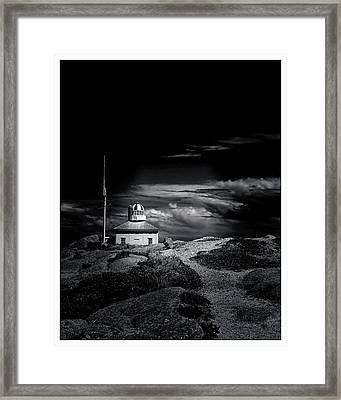 Old Cape Spear Lighthouse - Newfoundland Framed Print by Steve Hurt