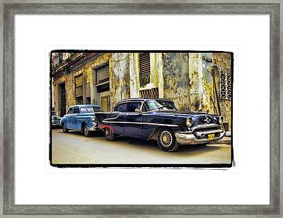 Old Car 1 Framed Print by Mauro Celotti