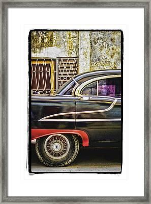 Old Car 2 Framed Print by Mauro Celotti