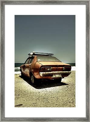 Old Car Framed Print by Joana Kruse