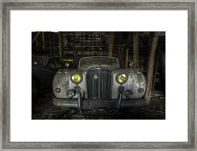 Old Car Framed Print by Nick  Shirghio