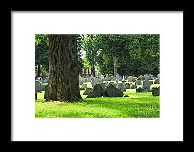 Grave Yards Framed Prints