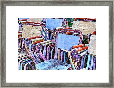 Old Chairs Framed Print by Joana Kruse