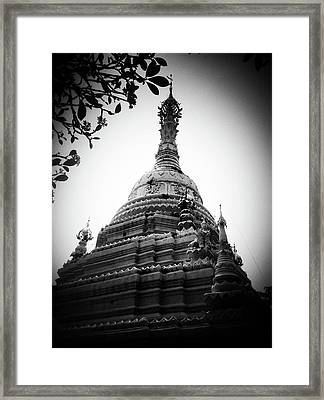 Old Chedi, Chiang Mai Framed Print