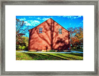 Old Christ Church Framed Print by Kelly Reber