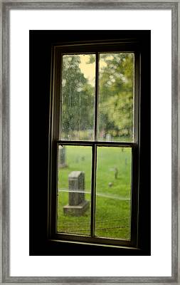 Old Church Window Framed Print by James Massey