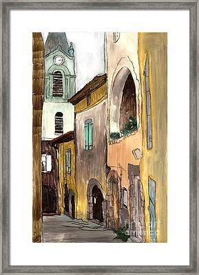 Old City Framed Print by Annemeet Hasidi- van der Leij