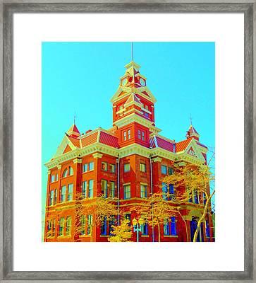 Old City Hall Bellingham Framed Print