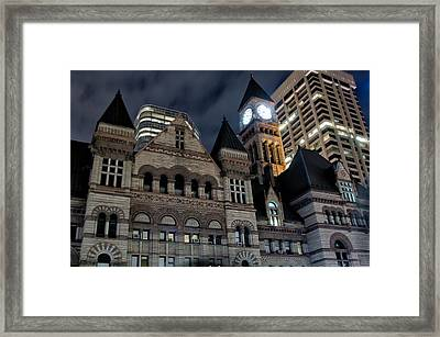 Old City Hall Framed Print by Luba Citrin