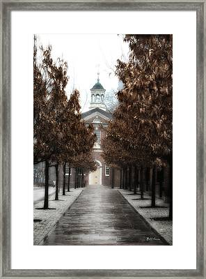 Old City Hall Philadelphia Framed Print by Bill Cannon