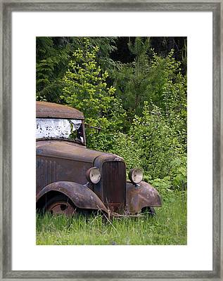 Framed Print featuring the photograph Old Classic by Steve McKinzie