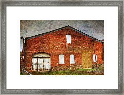 Old Coca Cola Building Framed Print by Paul Ward