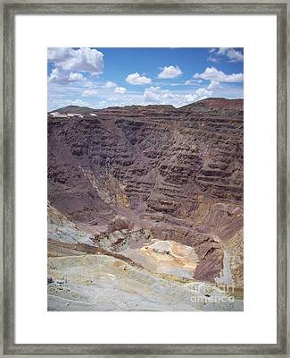 Old Coppermine  Framed Print