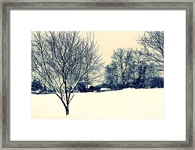 Old Country Christmas 3 Framed Print by Dan Stone