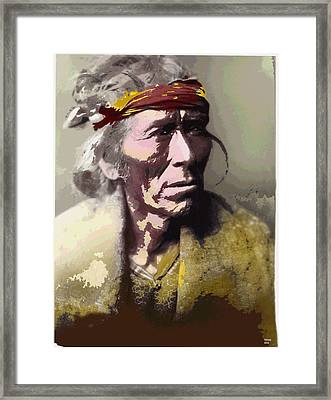 Old Crow Framed Print by Charles Shoup