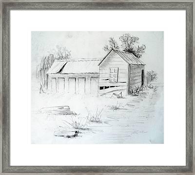 Old Dairy Framed Print