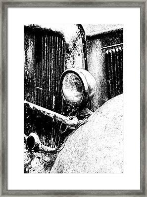 Old Dodge Framed Print by Barry Shaffer