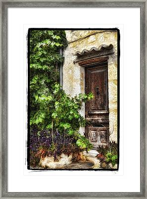 Old Door 2 Framed Print by Mauro Celotti