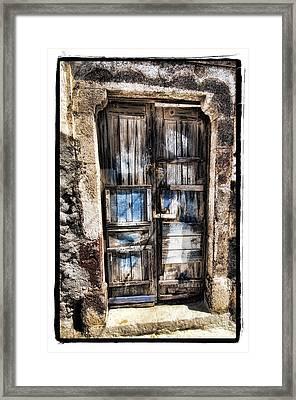 Old Door Framed Print by Mauro Celotti