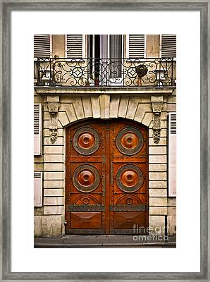 Old Doors Framed Print by Elena Elisseeva