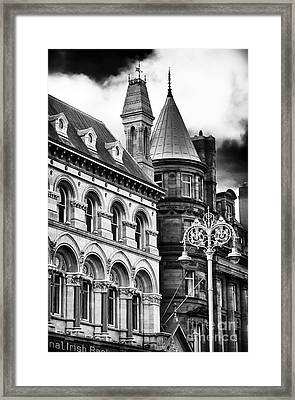 Old Dublin Framed Print by John Rizzuto