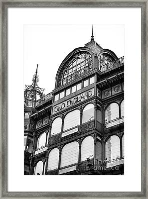 Old England Framed Print by John Rizzuto