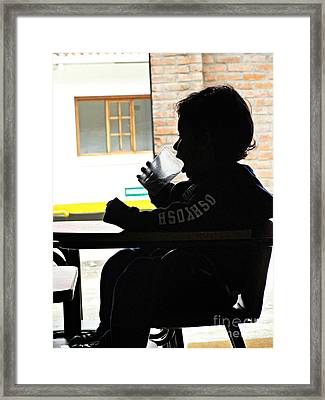 Old Enough To Drink Framed Print by Al Bourassa