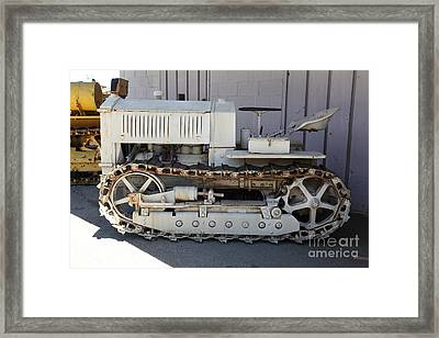 Old Farm Tractor . 5d16597 Framed Print by Wingsdomain Art and Photography