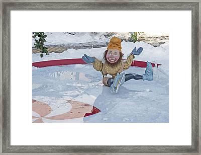 Old-fashioned Christmas 8 - Gardener Village Framed Print by Steve Ohlsen