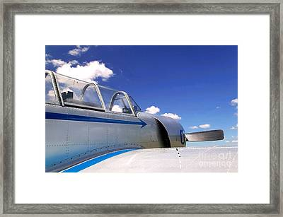 Old Fighter Plane. Framed Print