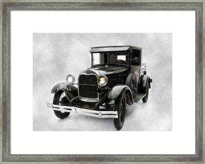 Old Ford Framed Print by Gary Rose