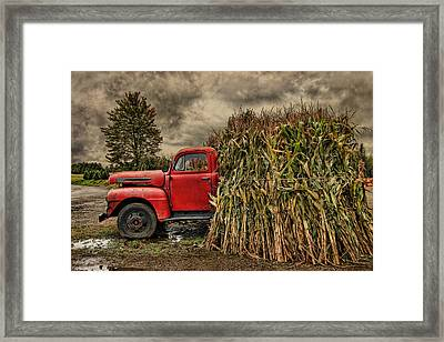 Old Ford Truck Framed Print by Pat Abbott