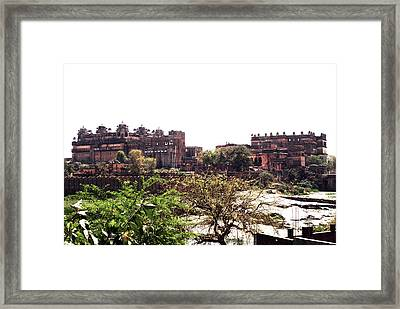 Old Fort In India Framed Print by Sumit Mehndiratta