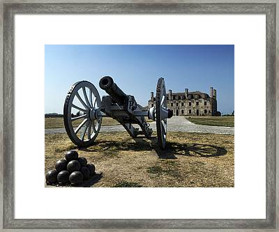 Old Fort Niagara Framed Print by Peter Chilelli