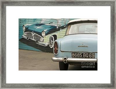 Old French Car Framed Print