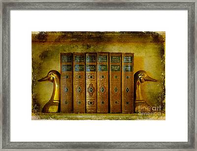Old Friends Framed Print by Lois Bryan