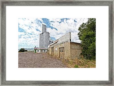 Old Grain Mill Framed Print