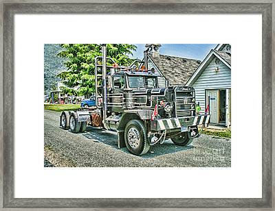 Old Hayes Hdr Framed Print by Randy Harris