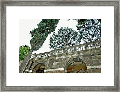 Old Heights Framed Print by Jenna Cornell
