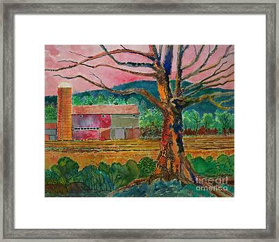 Old Herschel Farm Framed Print by Donald McGibbon