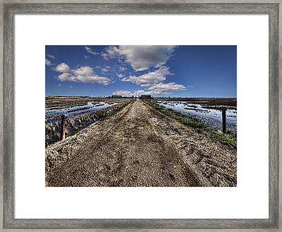 Old Highway Framed Print by Gabriel Calahorra